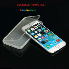 For iPhone 6 4.7 TPU Wrap Up Phone Case Cover with Built In Screen Protector