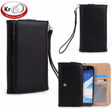 Kroo Clutch Wristlet Wallet Purse with Card slots for Samsung Galaxy S4