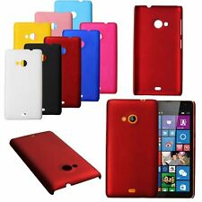 Slim Opaca Durevole Sottile PC Hard Cover Case Custodia Per Microsoft Lumia 535