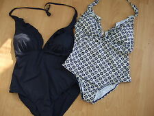Next ladies frill swimsuit navy daisy print size 14 16 18 20 22 NEW WITH TAGS
