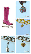 FC-CHARMS TRINKETS FOR WOMENS BOOT WEAR CHAIN ANKLE ACCESSORY COUNTRY WESTERN
