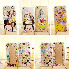 Cartoon Cute Disney Crystal Clear Hard PC Case Cover for iPhone 6 Plus 5S