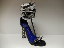 """Jeffery Campbell """"Barbed Wire"""" Leather Heels"""