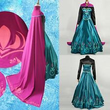 Pop Fashion Princess Dress/Cloak Suit Adult Girl Cosplay Costume Party Prom Gown