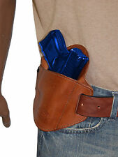 New Barsony Brown Leather Belt Slide Gun Holster Walther Steyr Compact 9mm 40 45