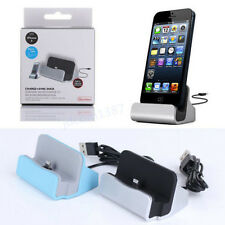 Charger Docking Station Cradle Charging Sync Dock Cable for iPhone 5 5S 5C 6Plus