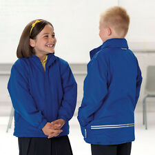 RUSSELL J875B REVERSIBLE KIDS JACKET FLEECE REFLECTIVE DETAILING NAME TAG