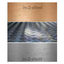 Aluminium and Copper Sheet or Chequer Plate/Tread Plate 1mm 1.2mm 1.5mm 2mm 3mm.