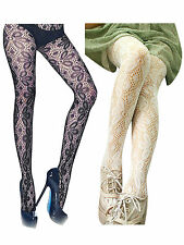 Women Sexy Stocking Hexapetalous Flower Web Net Hosiery Tights Pantyhose Strechy
