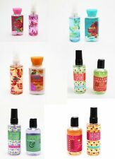 Bath & Body Works Body Mist Spray Body Lotion Shower Gel Mini Assorted Scents