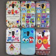 Soft Owl Case Cover Pouch For Samsung Galaxy Trend S7560 Ace II X 2 S7560M S7562