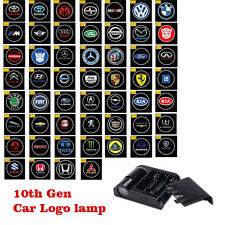 2 x Wireless LED Car Vehicle Courtesy Door Logo Shadow Laser Projector Light EP
