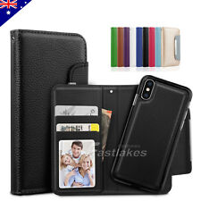 Magnetic Flip Leather Wallet Case Cover For Apple iPhone 6 / 6 Plus 6S / 7 Plus