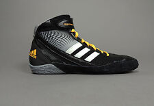 NEW Adidas Response 3.1 Wrestling Shoes M18787 Black White Gold Retail $95