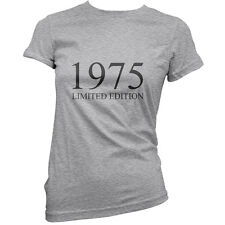 1975 Limited Edition - Womens 40th Birthday Present / Gift T-Shirt - 11 Colours
