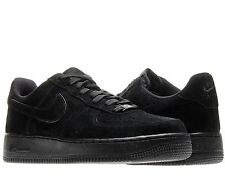 Nike Air Force 1 Low Black/Black-Clear Mens Basketball Shoes 488298-066