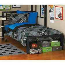 Your Zone Metal Platform Bed Frame with Headboard Footboard Twin Furniture NEW