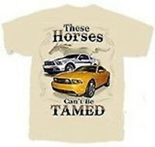 """These Horses Can't Be Tamed"" Mustang T-Shirt - FREE USA SHIPPING!"