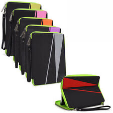 "I Water Resistant Nylon Pouch Sleeve Case Cover Stand for 7"" Tablets E-Readers"