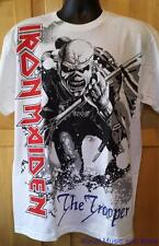 """IRON MAIDEN T-Shirt  """"Trooper-Front/Back""""   Licensed    S, M, L, XL, 2XL   NEW"""