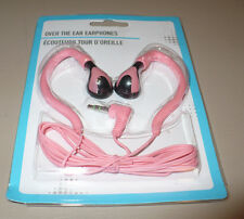 NEW -- Earbuds (Over the Ear) EARPHONES, In Various Colors - New in Package!