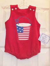 NWT - Bailey Boys - Red patriotic bubble - Boutique - Sizes 3 mo & 9 mo