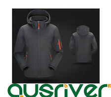 Premium Men Outdoor Climbing Hiking Sports Hooded Soft Shell Cycling Jacket Coat