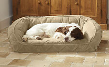 Orvis Pillow Fleece Dog Bed In Black Multi - X Large Dogs 120+ Lbs. Multi Dogs