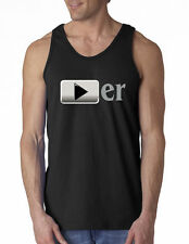 Youtuber Youtube Sarcastic Gag Funny Adult Humor Work Out  Tank Top S M L XL