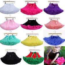 Girl's Toddler Tutu Fluffy Skirt Princess Petticoat Ballet Pettiskirt Dancewear
