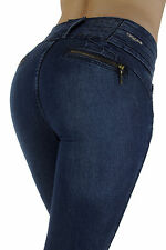 Style M1070 – Colombian Design, High Waist, Butt Lift, Skinny Jeans
