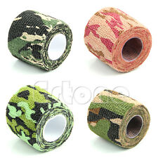 1 Roll Camo Hunting Camping Hiking Camouflage Waterproof Sporting Stealth Tape