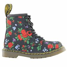 Dr.Martens Brook Lee Midnight Black Multi Kids Boots - 15373415