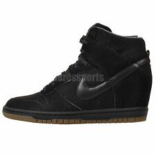 Nike Wmns Dunk Sky Hi Essential Black Womens Fashion Wedge Sneakers Casual Shoes