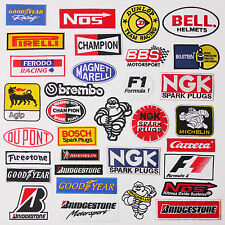 "99p ANY ""RACE SPONSOR"" MOTORSPORT PATCH - WHOLESALE & 80p Max Postage, UK SELLER"
