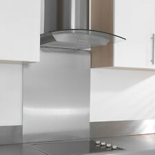 Kitchen Splashbacks in various sizes and finishes - Glass and Stainless steel