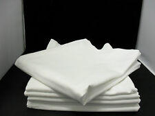 """HOTEL QUALITY PACKS OF WHITE TABLE CLOTH ( SQUARE SIZE : 54"""" X 54"""" )"""