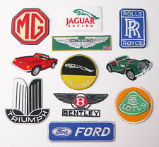 """""""BRITISH CAR MARQUES"""" CHEAP PATCH SHOP - Low Prices, UK Seller, Fast & Free Post"""