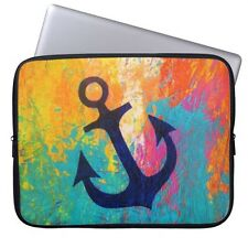 """Anchor Laptop Waterproof Sleeve Case Bag For 13-15.6"""" MacBook Pro Air Acer Dell"""