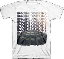 Imagine Dragons Repeat Men's White Tee Shirt T-shirt S M L XL 2XL