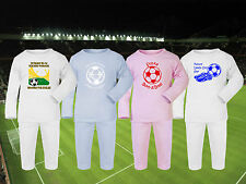 Football Baby/Toddlers Pyjamas set PJs * CHOOSE ANY TEAM! 4 Designs * Sleepwear