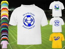 LEEDS UNITED Football Baby/Kids/Children's T-shirt Top Personalised - Any colour