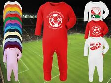 NOTTINGHAM FOREST Football Baby ROMPER Sleep Suit Personalised Cute Gift-AnyTEAM