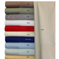 Super soft and silky 100% Bamboo Hypo Allergenic 4PC Sheet Set, Deep pocket 18""
