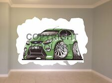 Huge Koolart Cartoon Ford Focus Rs Wall Sticker Poster Mural 2548