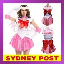 Pink Sailor Moon Costume Cosplay Uniform Fancy Dress Up Hens Party Outfit