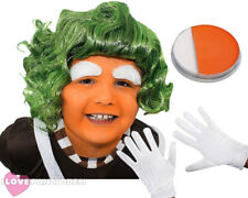 CHILD'S FACTORY WORKER WIG BOOK WEEK DAY CHARACTER FANCY DRESS COSTUME ACCESSORY