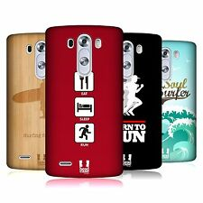 Head case designs extreme sports collection 2 Coque Arrière Dur pour LG G3 D850