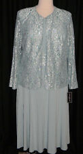 Jessica Howard Plus Lace Jacket Dress Mother of the Bride