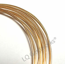 1 oz 14k GOLD FILLED Round Wire, HH or DS, Choose Gauge